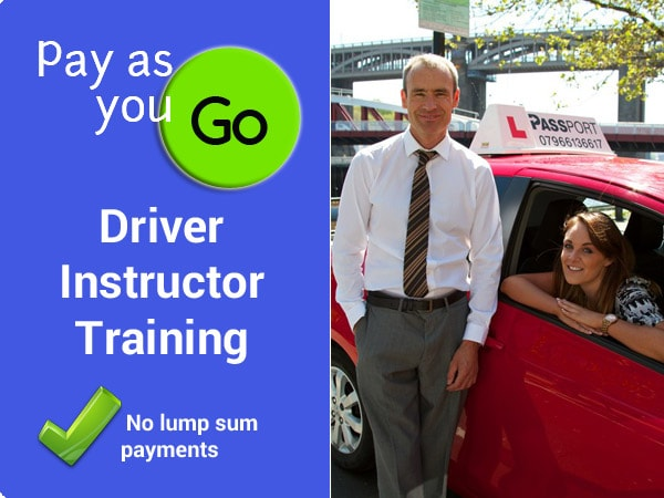 Pay as You Go Driver Instructor Training Gateshead