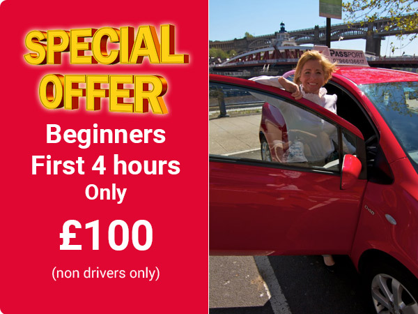 Learner Driver Course Gateshead £14 First 2 Hours
