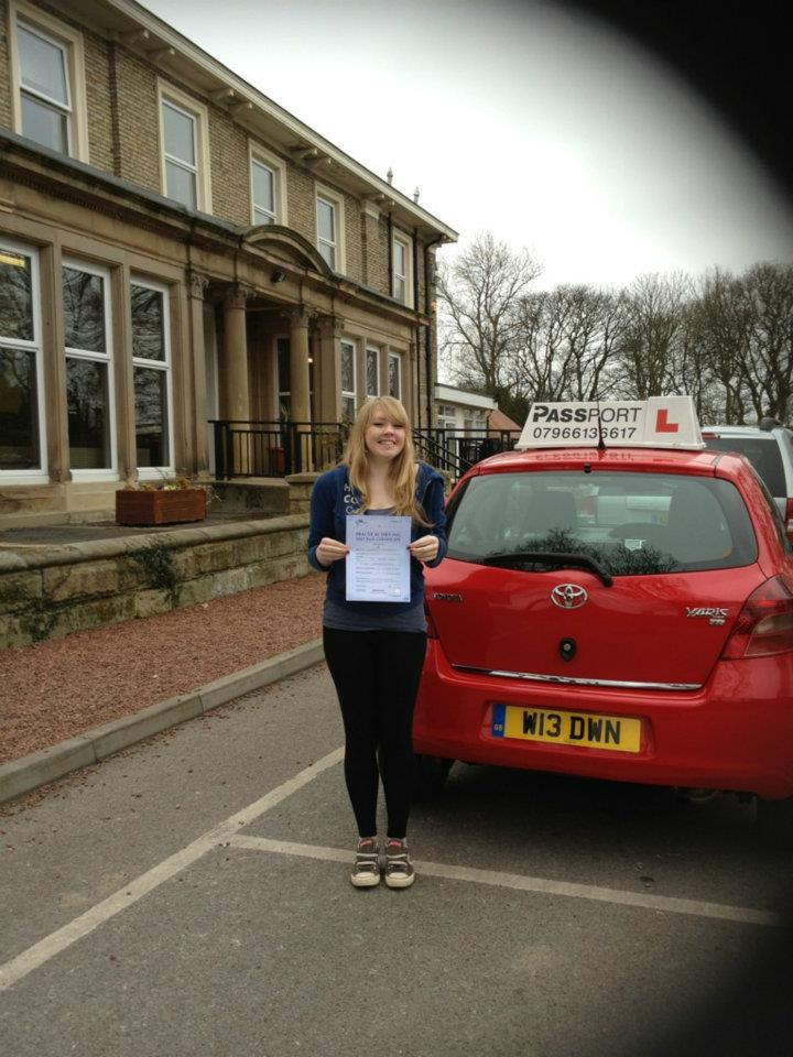 Emma Hudson Driving Lessons Prudhoe