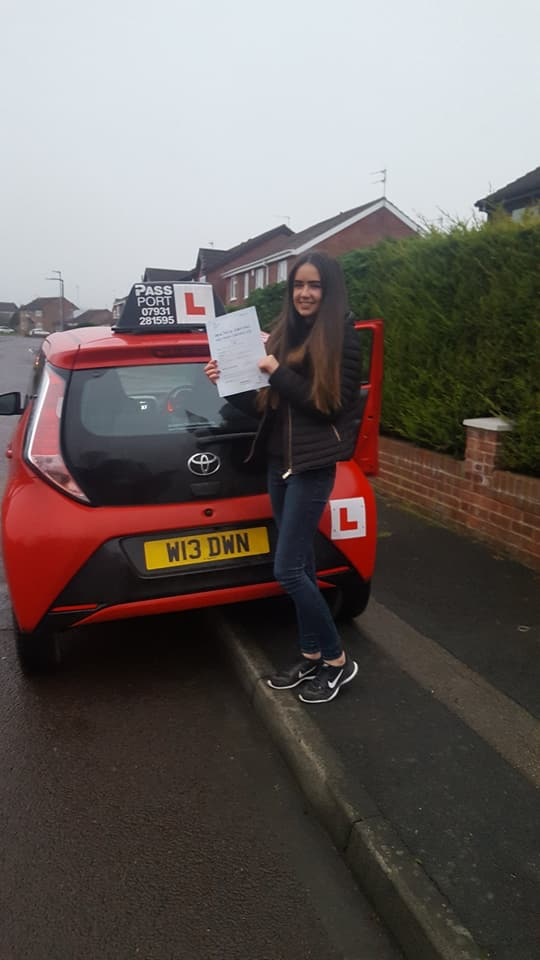 Zoe Foster Driving Lessons South Shields
